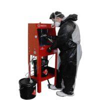 Solvent Spray Gun Cleaners - Parts