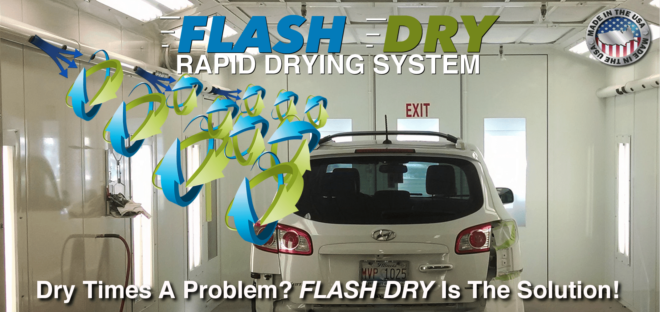 Flash Dry - Rapid Drying System